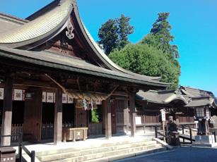 阿蘇神社境内