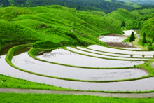 産山村の農村景観(産山村)