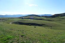 阿蘇山南西部の草原及び森林景観(南阿蘇村)